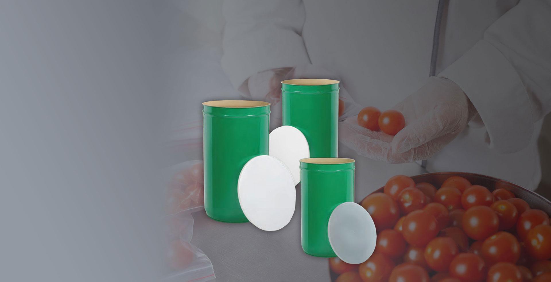D.R. Plast - Coperchi per fusti - Pomodoro